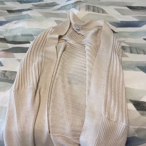 Sweaters - Nude mid arm length cardigan